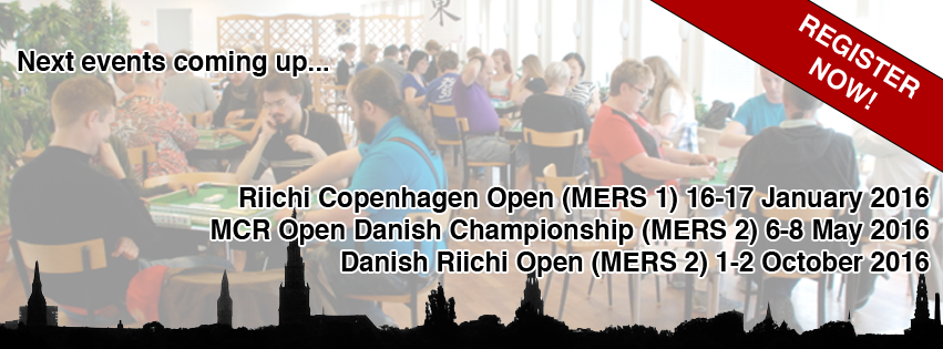 MCR  Open Danish Championship 2016, Copenhagen, May 6-8, 2016