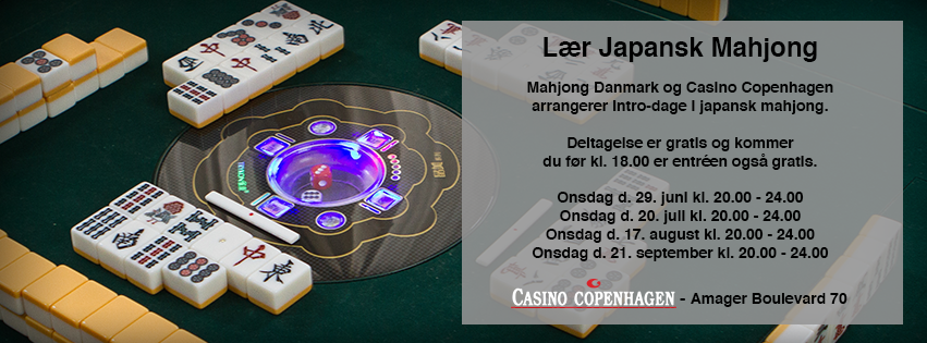 Riichi intro events at Casino Copenhagen